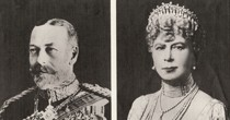 LJubilee photo of Queen & King (Visit in 1935).