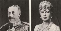 LJubilee photo of Queen & King (Visit in 1935).