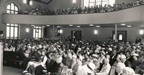 Guest speaker / Minister from Finland at Trinity United Church (1950's)<br />