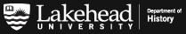 Lakehead University Department of History